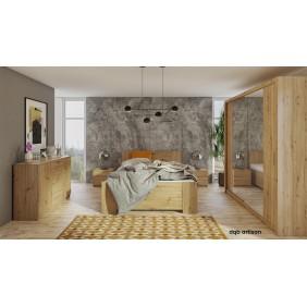 Zestaw mebli do sypialni BONO 6 dostępny w kilku wersjach kolorystycznych