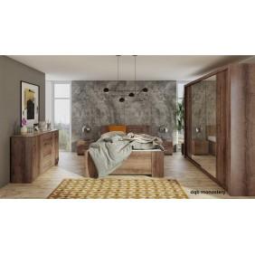 Zestaw mebli do sypialni BONO 7 dostępny w kilku wersjach kolorystycznych