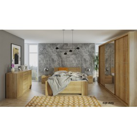 Zestaw mebli do sypialni BONO 8 dostępny w kilku wersjach kolorystycznych
