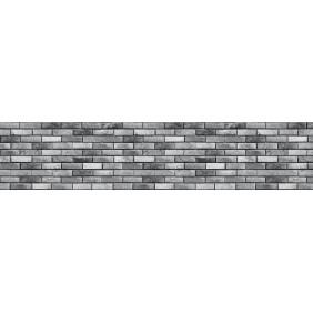 Panel dekoracyjny cegła szara (CPL mat)