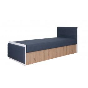 Łóżko młodzieżowe Iwa w dwóch propozycjach kolorystycznych