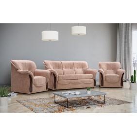 Rozkładana sofa z pojemnikiem na pościel Honorata