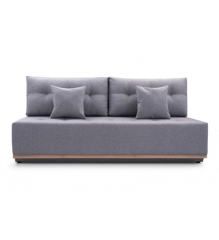 Szara sofa ARENA