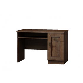 Brązowe biurko w stylu klasycznym Tadeusz T-19