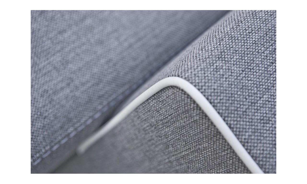 Brązowa, rozkładana sofa z pojemnikiem na pościel Samanta A inari27