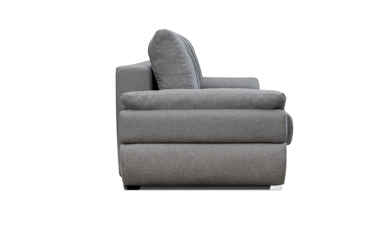 Niebieska, rozkładana sofa z pojemnikiem na pościel Benita penta15
