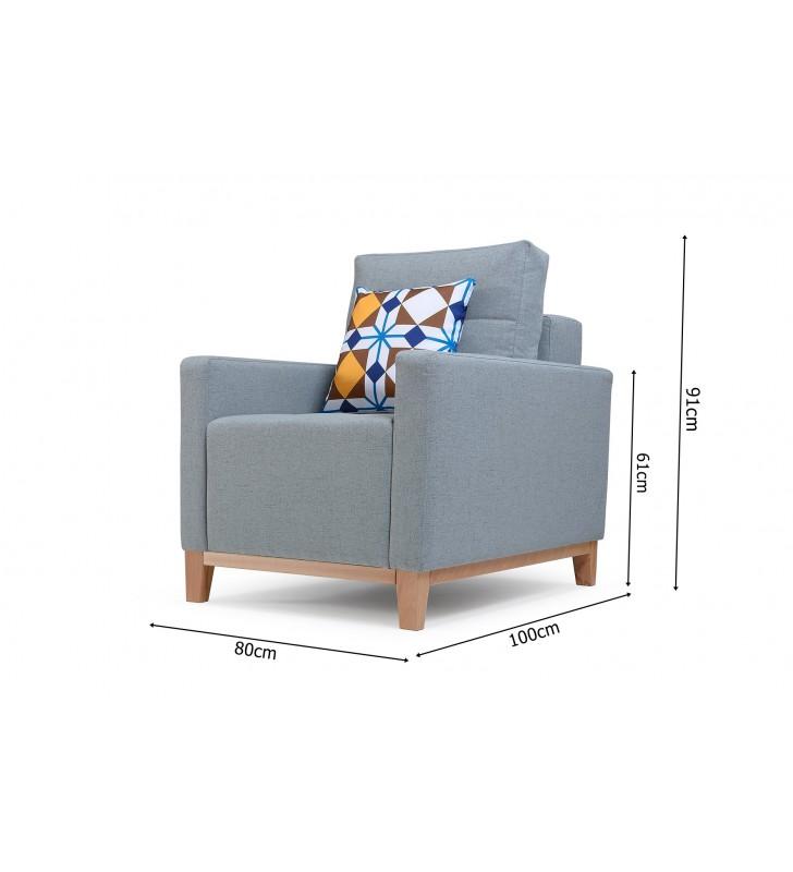 Fotel Ariel dostępny w różnej kolorystyce