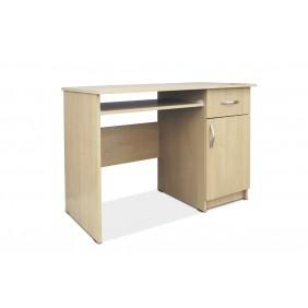 Biurko z wysuwaną półką na klawiaturę AB1