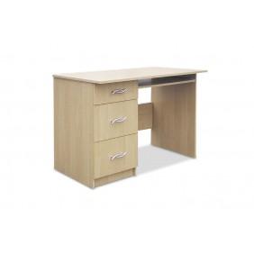 Biurko z szufladami i wysuwaną półką na klawiaturę AB3