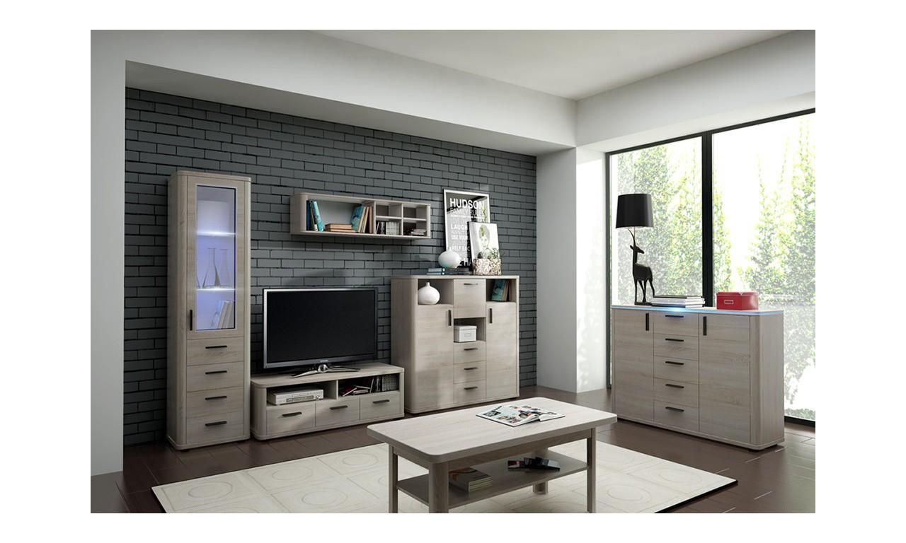 Szeroki stolik TV w stylu nowoczesnym Optima 9