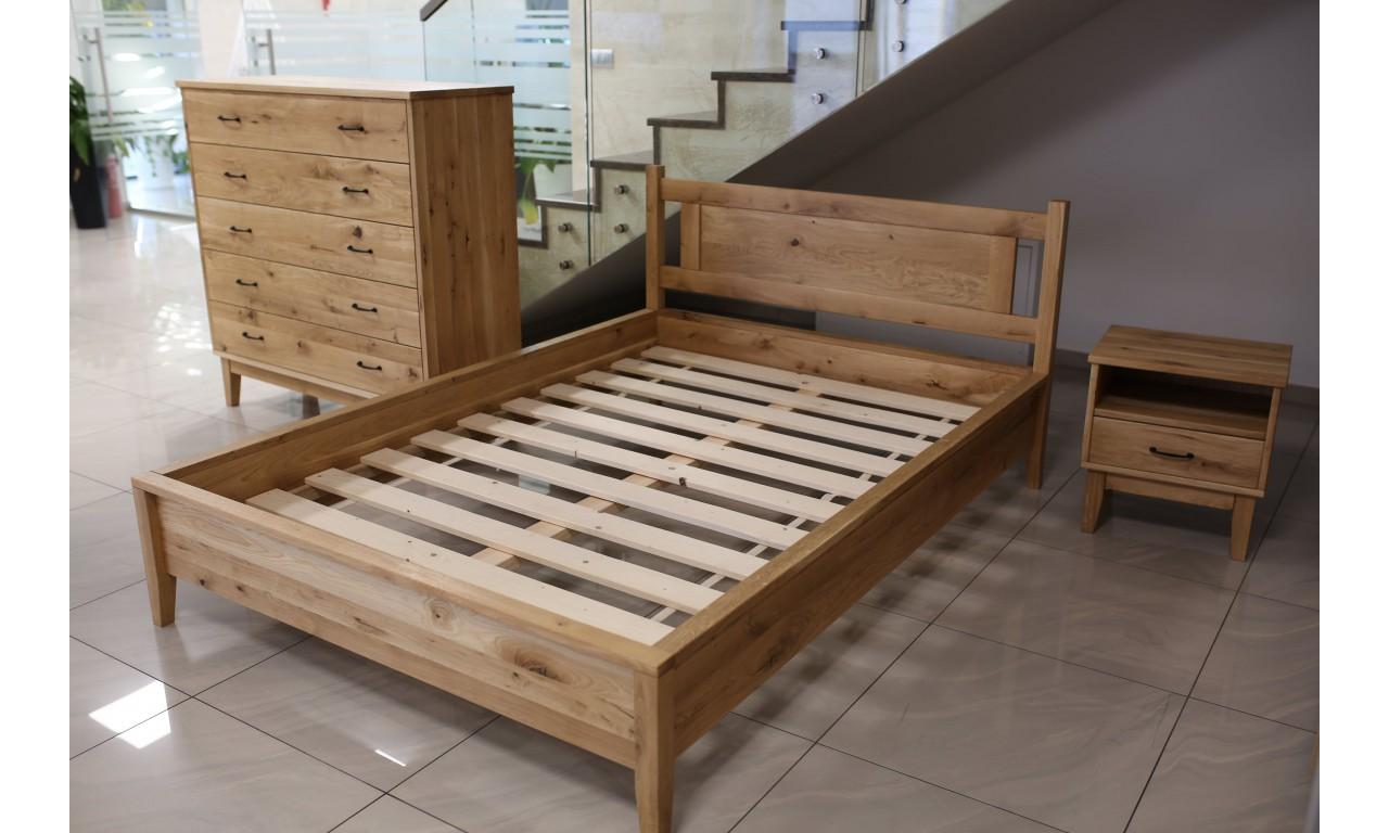 Szafka nocna z litego drewna MbtkSz1