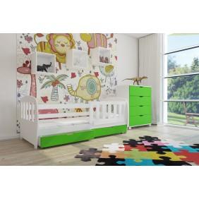 Zestaw zielonych mebli do pokoju dziecięcego KMZs1f
