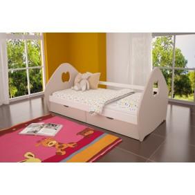Łóżko pojedyncze z szufladami KMLk3