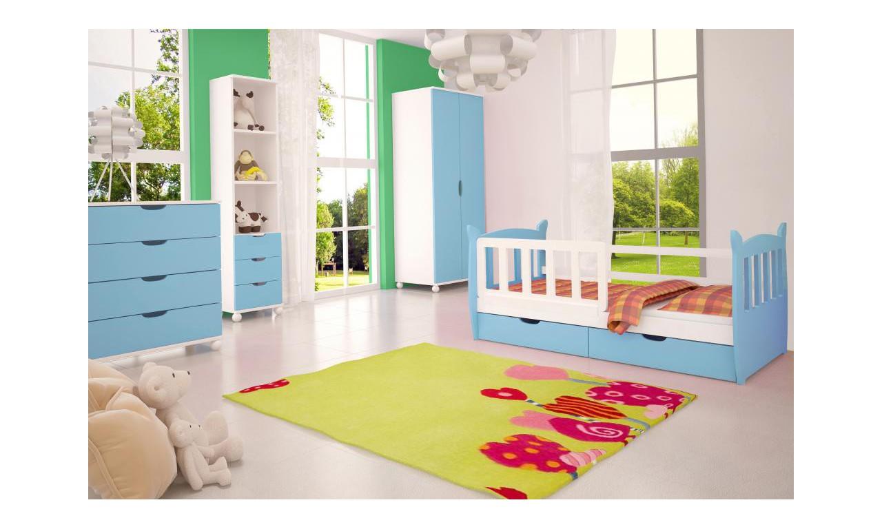 Zestaw niebieskich mebli do pokoju dziecięcego KMZs4n
