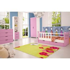 Zestaw różowych mebli do pokoju dziecięcego KMZs4r