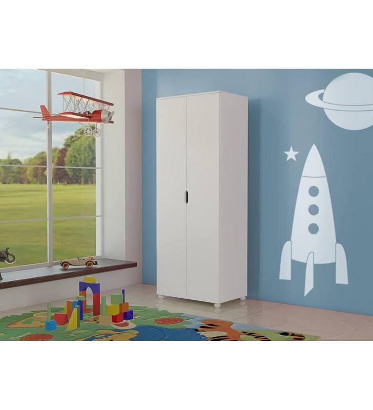 Szafa do pokoju dziecięcego dostępna w kilku kolorach KMSz1
