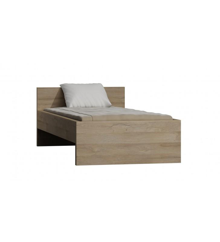 Łóżko (90x200 cm) w stylu nowoczesnym Orlando O-20