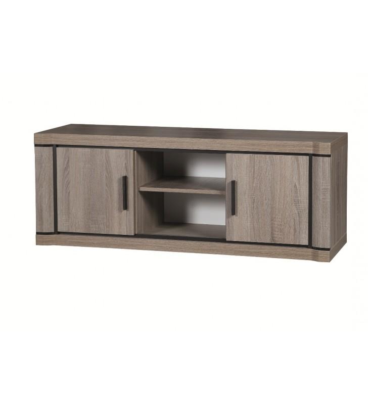 Szeroki stolik TV w stylu klasycznym Dallas D-12