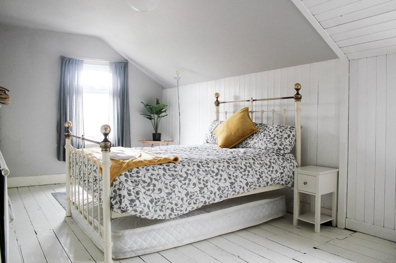 sypialnia w stylu prowansalskim inspiracje
